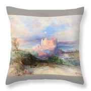 Conway Castle Throw Pillow