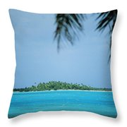 Cook Islands, Rarotonga Throw Pillow