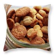 Cookie Jar Throw Pillow