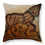 Cookie Mold 20 Throw Pillow
