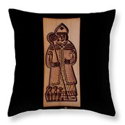 Cookie Mold 8 Throw Pillow by Hanne Lore Koehler