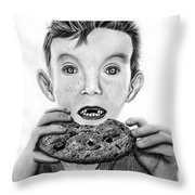 Cookie Surprise  Throw Pillow