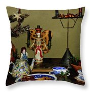 Cookies For St Nick Throw Pillow
