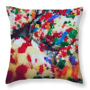 Cookies Mosaic Throw Pillow