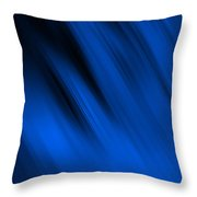 Cool Blue Flame Throw Pillow