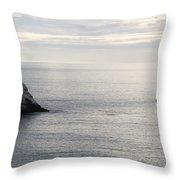 Cool Horizon Throw Pillow