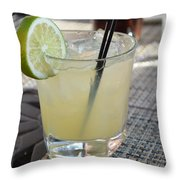Cool Margarita Throw Pillow