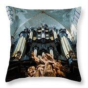 Cool Organ Throw Pillow