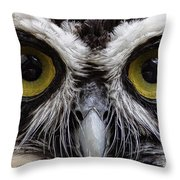 Cool Peepers Throw Pillow