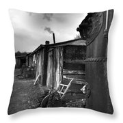 Cool Shack Throw Pillow