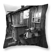 Cool Shack Too Throw Pillow