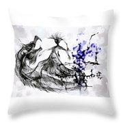Cool Sketch 128 Throw Pillow