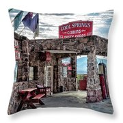 Cool Springs Az Throw Pillow