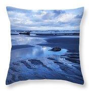 Cool Summer At Beach Throw Pillow