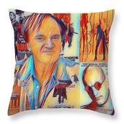Cool Tarantino Throw Pillow
