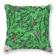 Cool Tropic  Throw Pillow