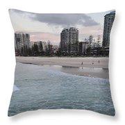 Coolangatta Sunset Throw Pillow