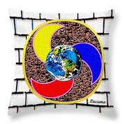 Coolearth Throw Pillow