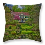 Coolfront Manor House Throw Pillow