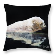 Cooling Off-chinook Throw Pillow