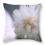 Coolly Abstract Throw Pillow