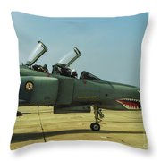 Coon-ass Militia Throw Pillow