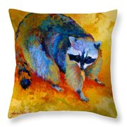 Coon Throw Pillow