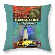 Cooper Chevy Throw Pillow