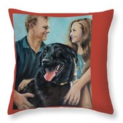 Cooper The Scottie Throw Pillow