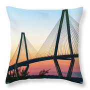 Cooper River Diamonds Throw Pillow