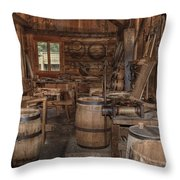 Cooperage Throw Pillow
