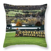 Cooperstown Dreams Park Throw Pillow