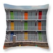 Coordinated Colors Throw Pillow