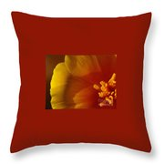 Copa De Oro - Vibrant Throw Pillow