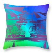 Copacabana Throw Pillow