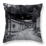 Copala Cobblestone Street Throw Pillow