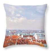 Copenhagen City Denmark Throw Pillow