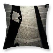 Copenhagen Lady Throw Pillow by KG Thienemann