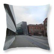 Copenhagen Old And New Throw Pillow