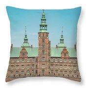 Copenhagen Rosenborg Castle Facade Throw Pillow