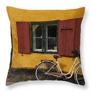 Copenhagen Still Life Throw Pillow