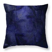 Copious Blue Throw Pillow