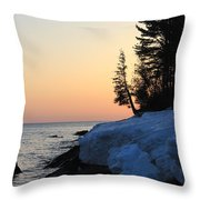 Copper Country Spring Sunrise Throw Pillow