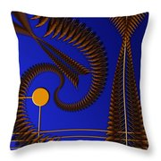 Copper In The Sun Throw Pillow