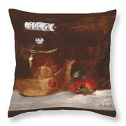 Copper Kettle Throw Pillow