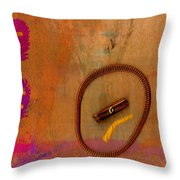 Copper Ridges Throw Pillow