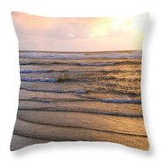 Copper Shores Throw Pillow
