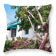 Copper Tree  Throw Pillow