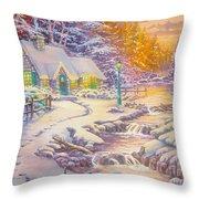 copy of Evening Glow Throw Pillow
