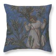 Copy Of Giotto's Frescoes Throw Pillow